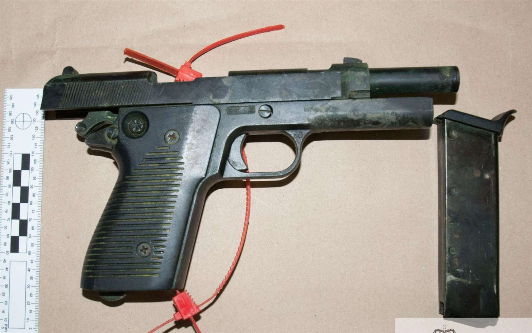One of the guns seized by officers. Picture: Kent Police