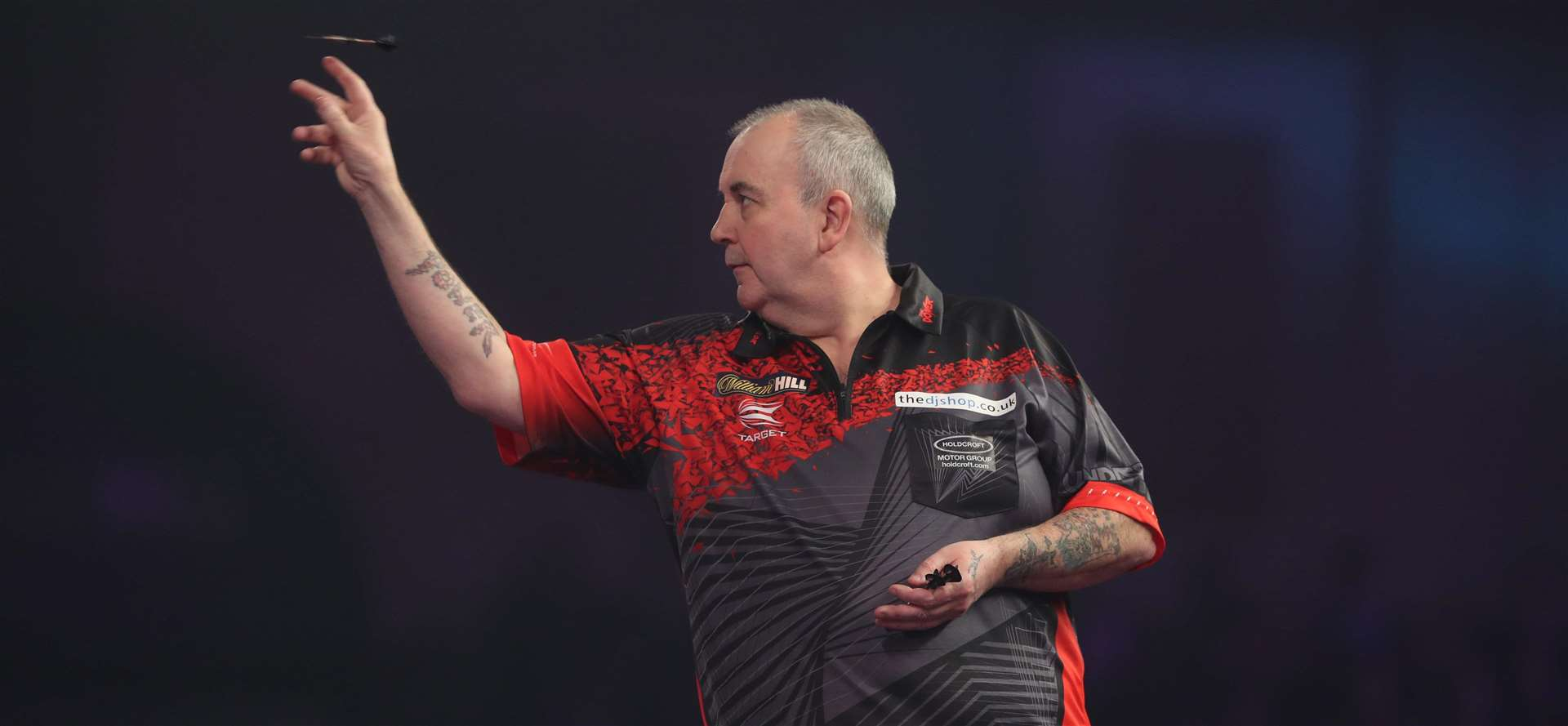 The ultimate test! One person on each VIP table, sold as ten, will face Phil 'The Power' Taylor