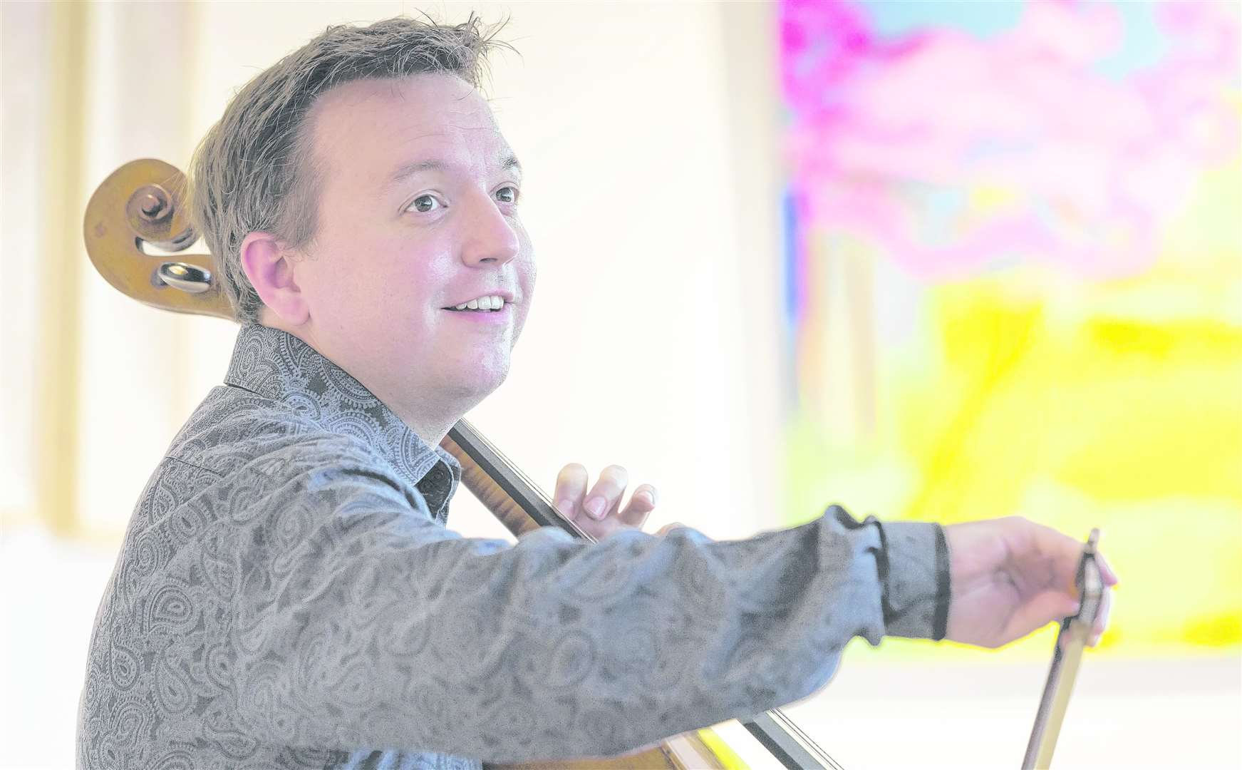 Cellist Richard Harwood will return to Music@Malling. Picture: Martin Apps