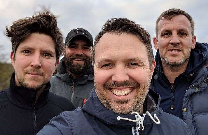 Aaron Mitford, Leon Everitt, Gaz Jones and Stuart Lindars will climb Ben Nevis in Scotland, Scafell Pike in England and Snowdon in Wales - all in one day