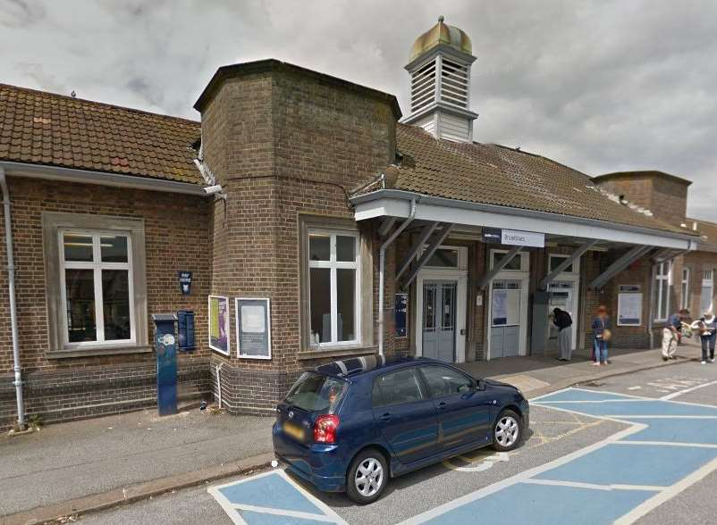 The woman died on the tracks at Broadstairs train station