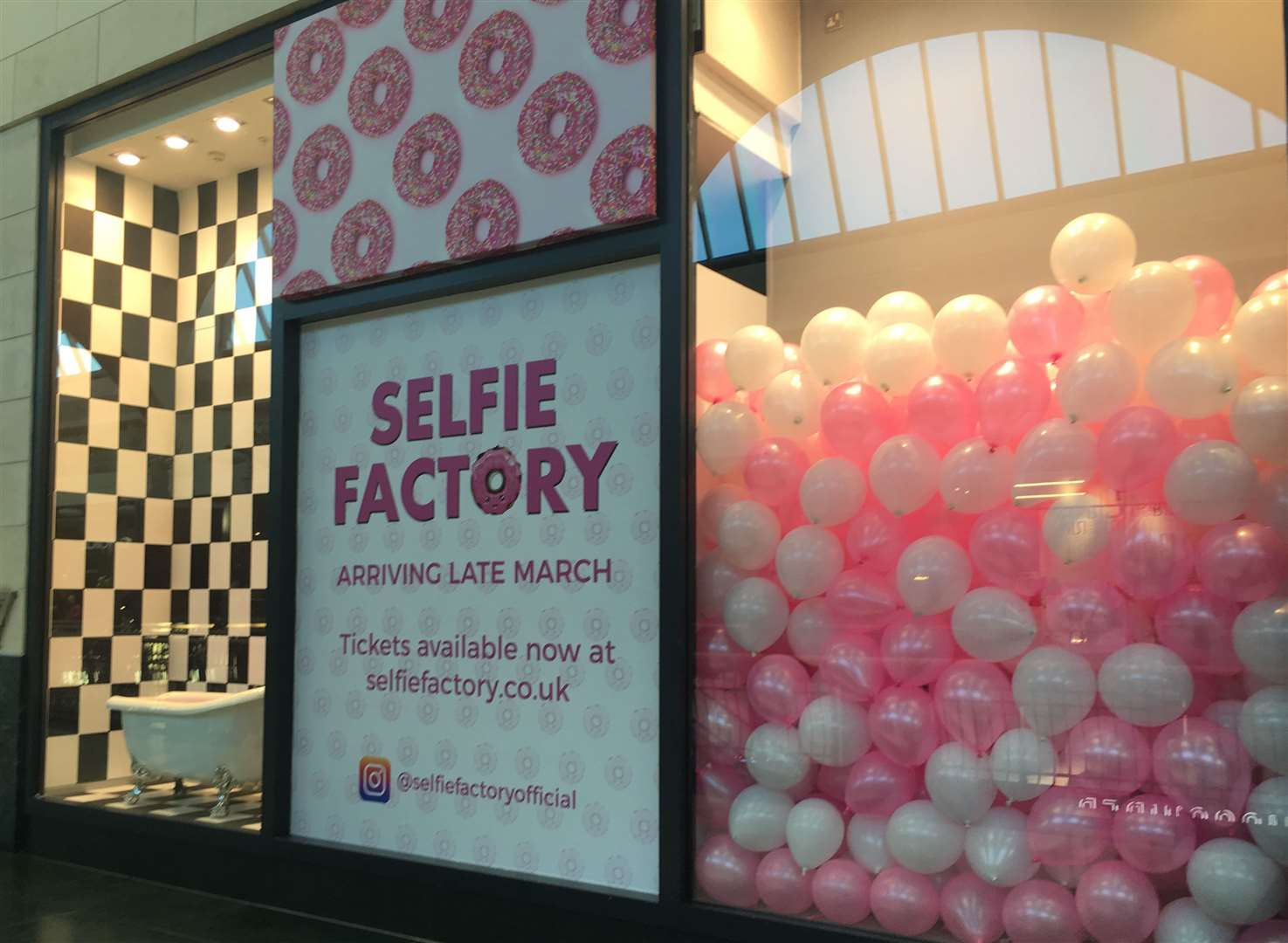 The Selfie Factory opens later this month