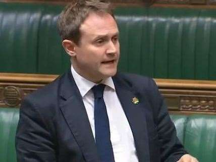 MP Tom Tugendhat has signed the letter Picture: Parliament TV