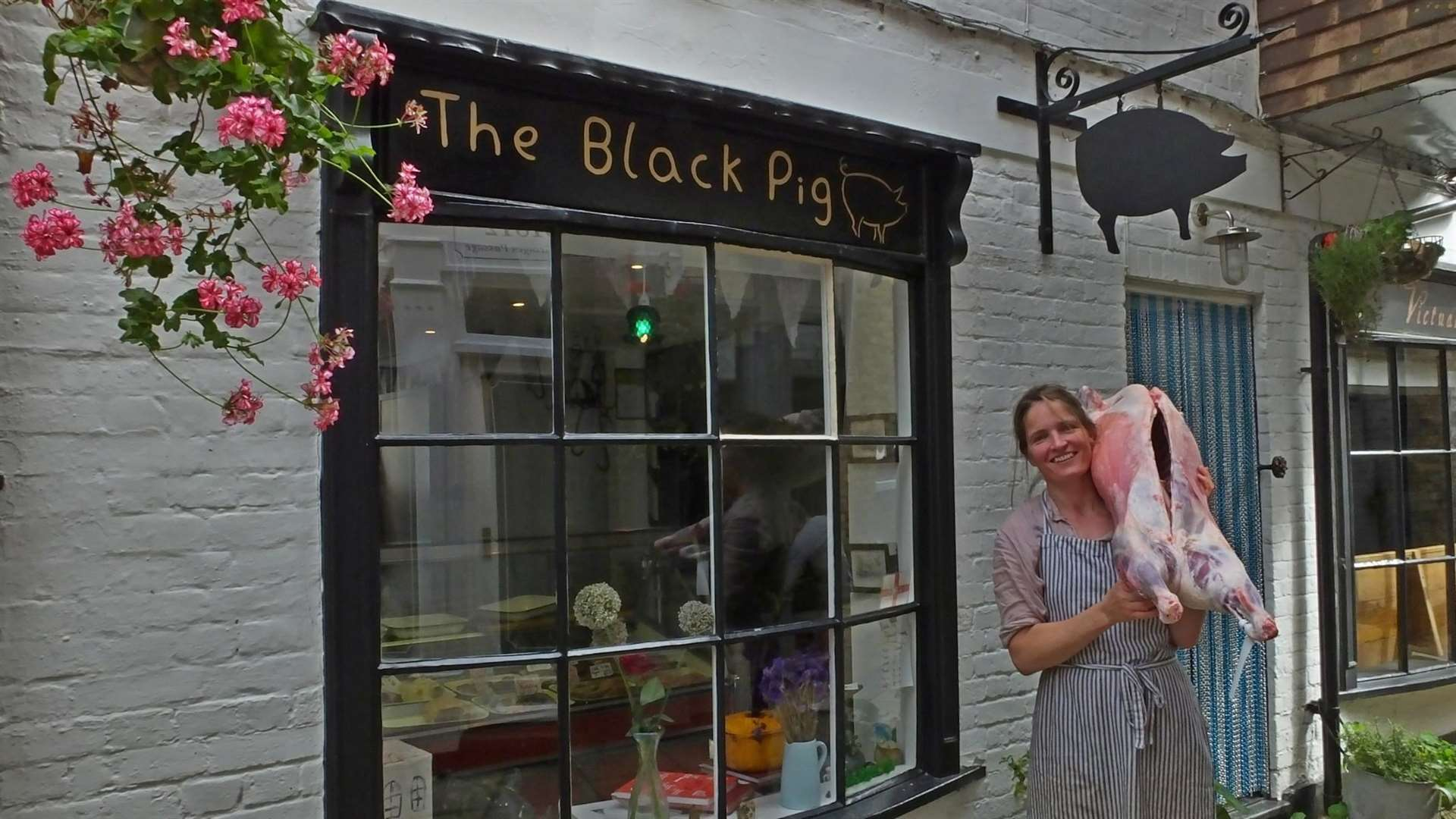 Lizzy Douglas opened The Black Pig in Deal in 2014 and has now won a Young British Foodie award