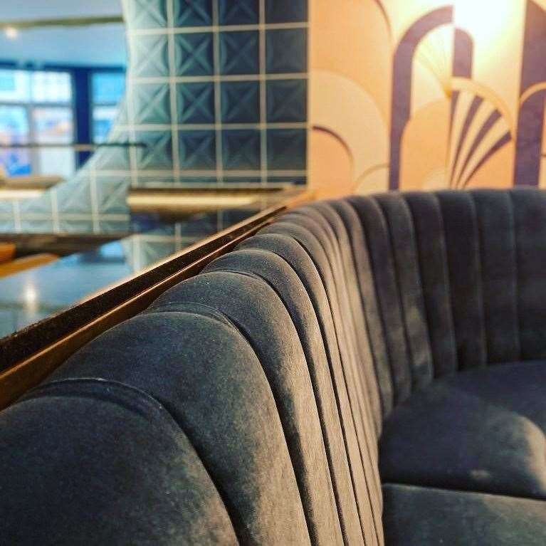 Reign Bar and Lounge in Broadstairs opens outside in April and its art deco inside opens in May