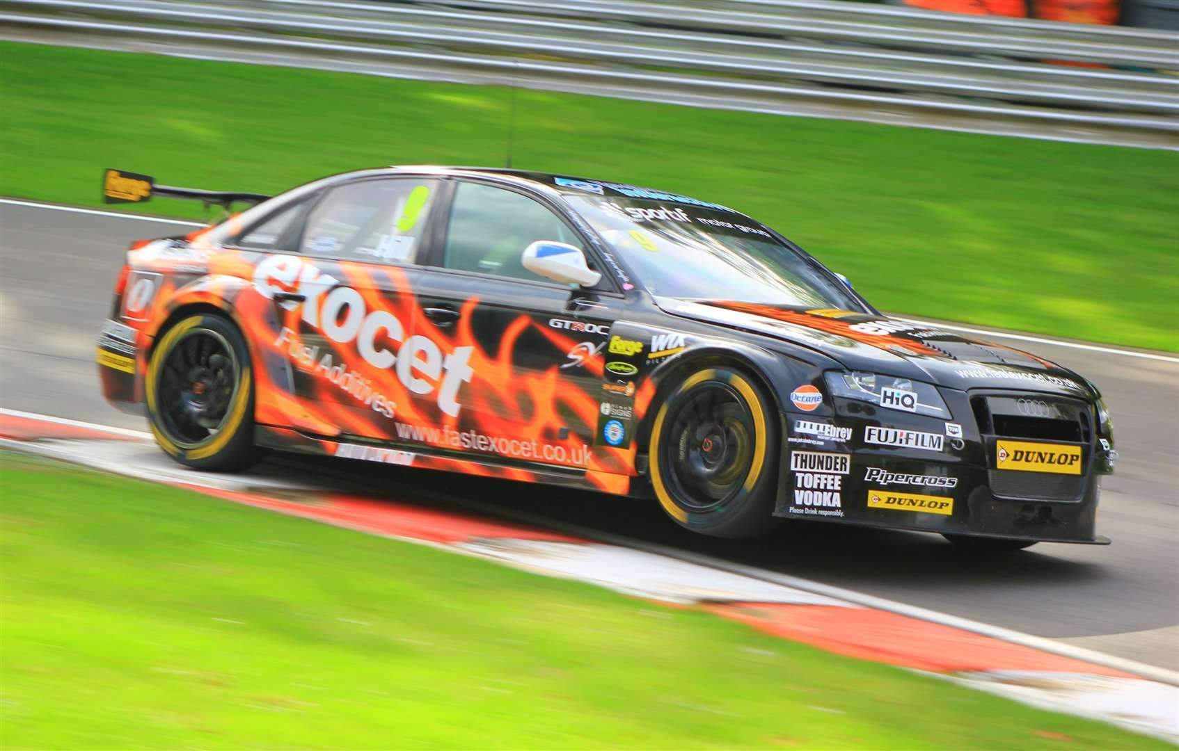 Hill made his BTCC debut at Croft in 2013 with Motorbase Performance before handling a Rob Austin Racing-run Audi at the Brands finale. Picture: Joe Wright