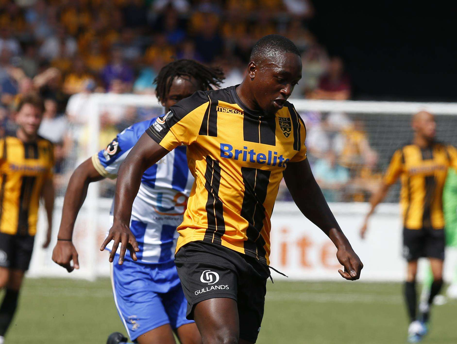 Jamar Loza has left Maidstone for Billericay Picture: Andy Jones