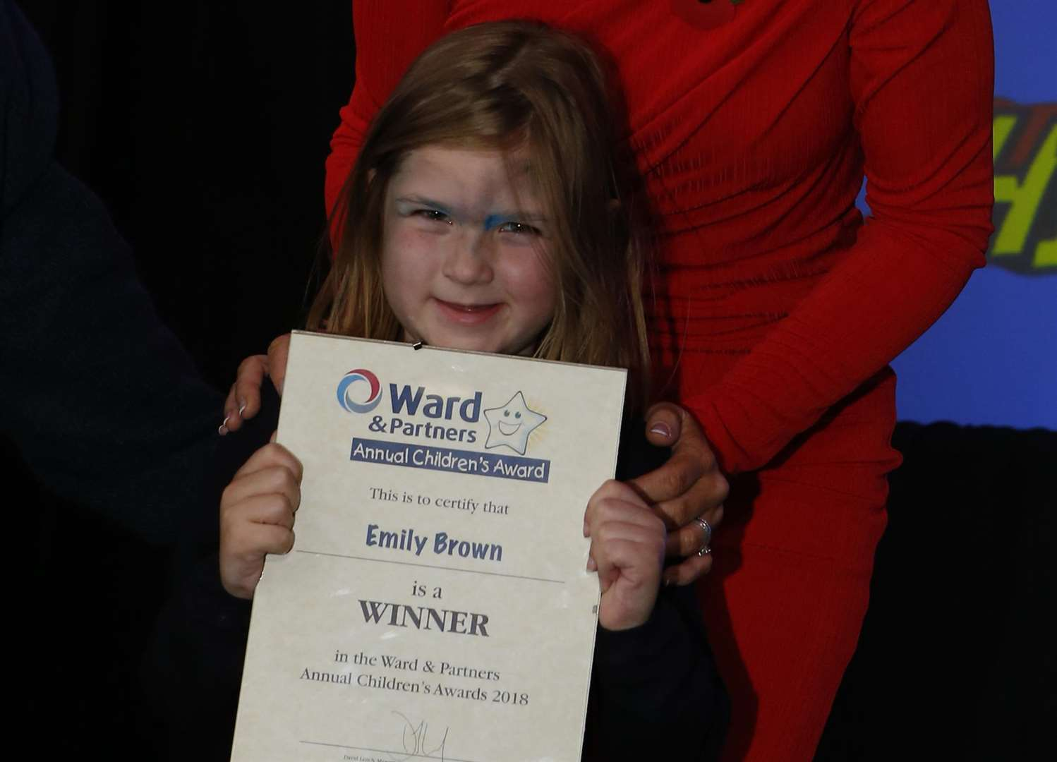 Emily Brown, winner of Young Fundraiser