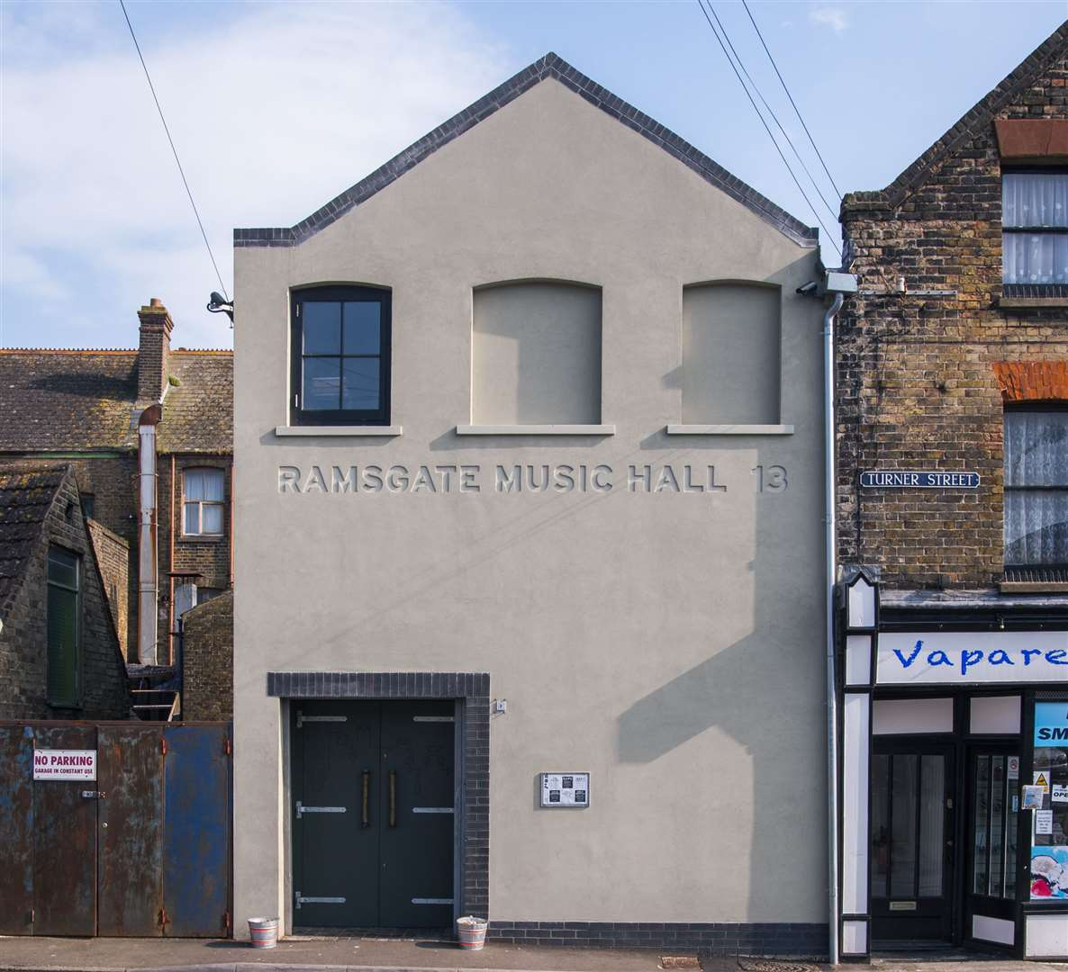 The Ramsgate Music Hall was recently awarded money from the government's Cultural Recovery Fund