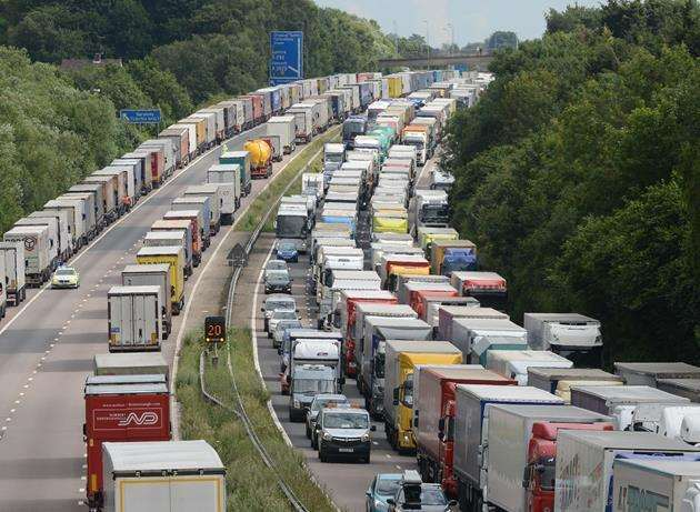 Operation Stack blighted Kent's roads in 2015 and there are fears a no-deal Brexit could cause similar chaos