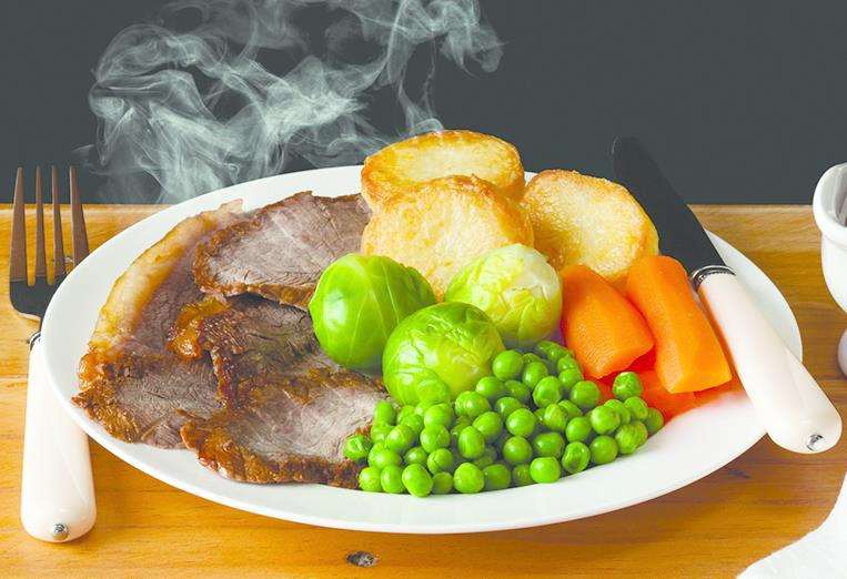 The pub is offering roast dinners for just £1. Stock picture