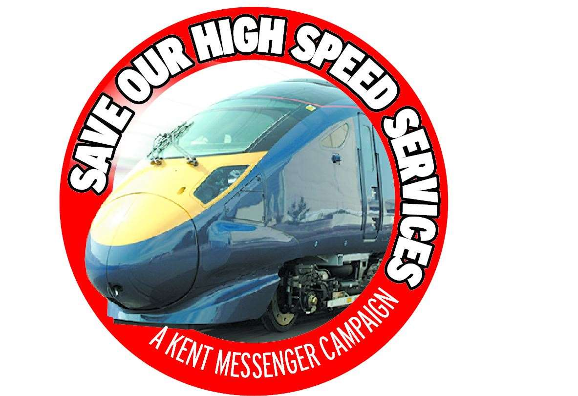 The Kent Messenger newspaper has launched a campaign to save Maidstone West's high speed trains to the capital. (8413060)
