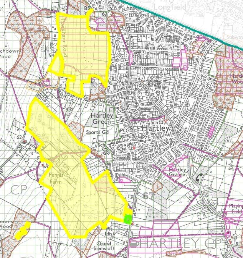 The Sevenoaks Local Plan