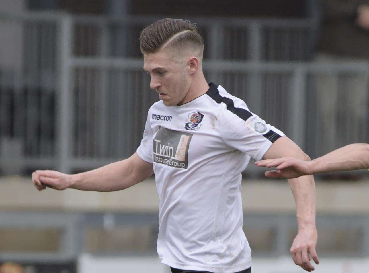 Dartford striker Andy Pugh Picture: Andy Payton