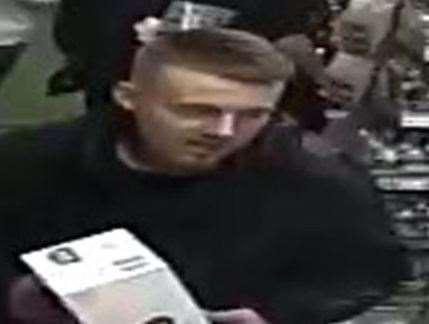 Police believe this man may have important information. Pic: Kent Police (19736569)