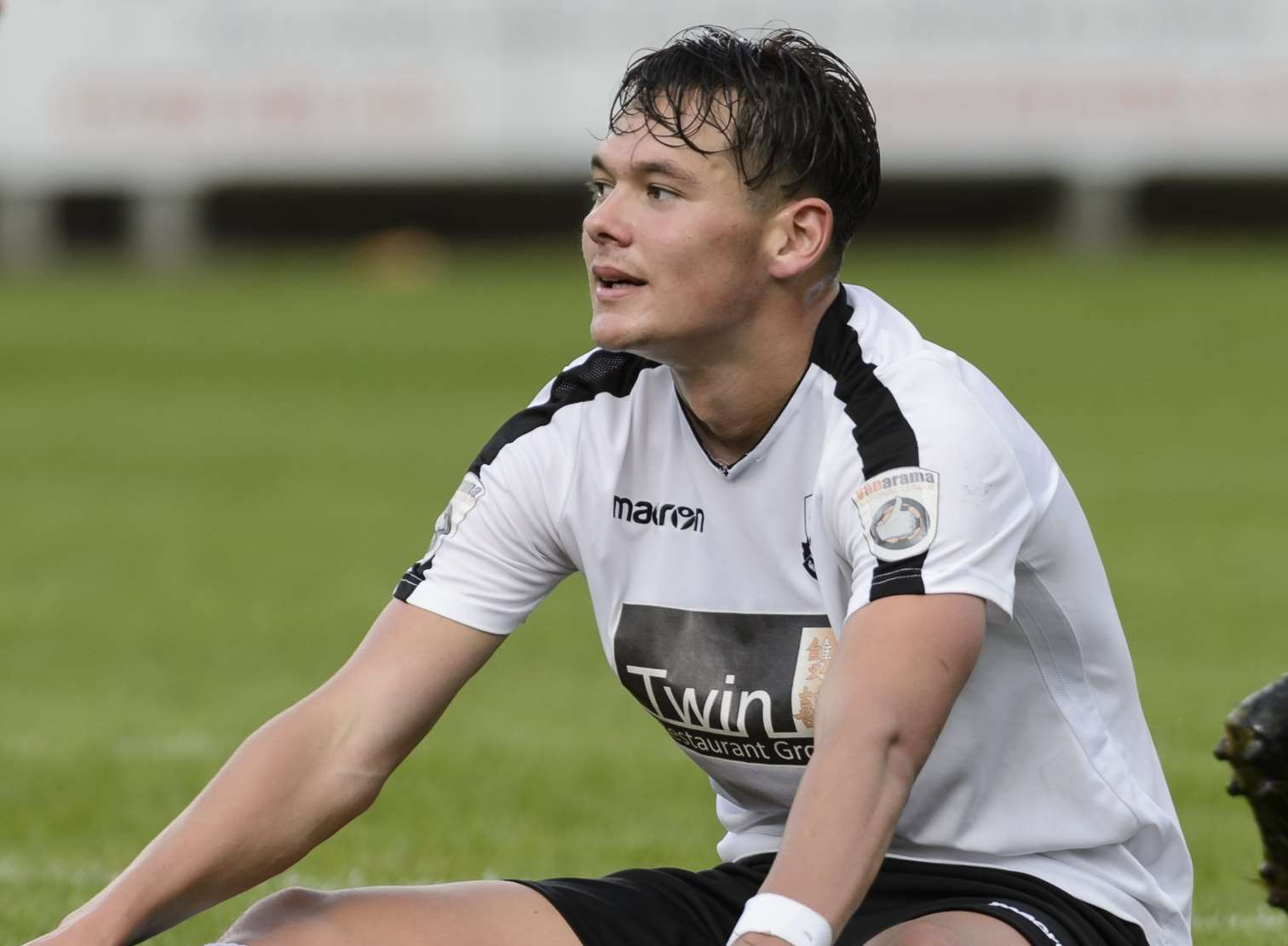 Dartford forward Alfie Pavey. Picture: Andy Payton