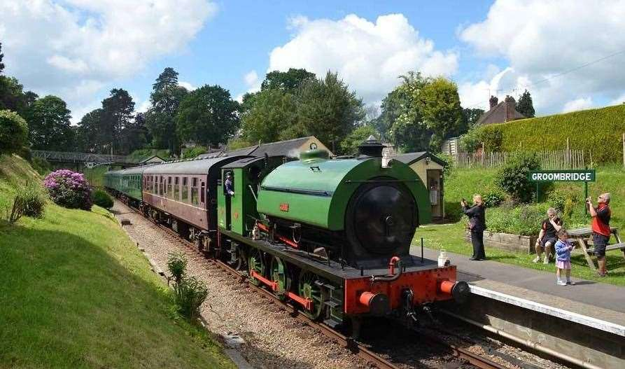 Spa Valley Railway, Tunbridge Wells