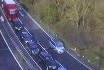 Crash on M2 between junction 6 and 7 coastbound (1511880)