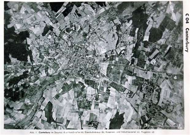 Ww2 bombing plans snapped up on ebay luftwaffe map bought on ebay showing canterbury gumiabroncs Image collections
