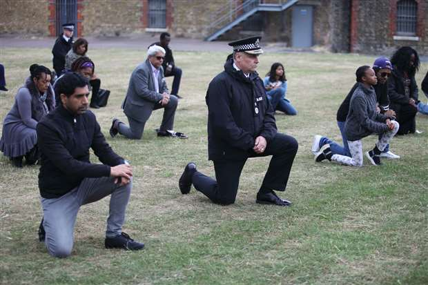 Kent Police chief constable Alan Pughsley attended. Picture: Cohesion Plus