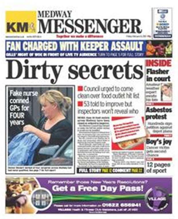 Medway messenger online