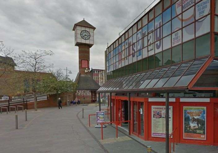 The Orchard Theatre in Dartford is currently closed but there is activity behind the scenes