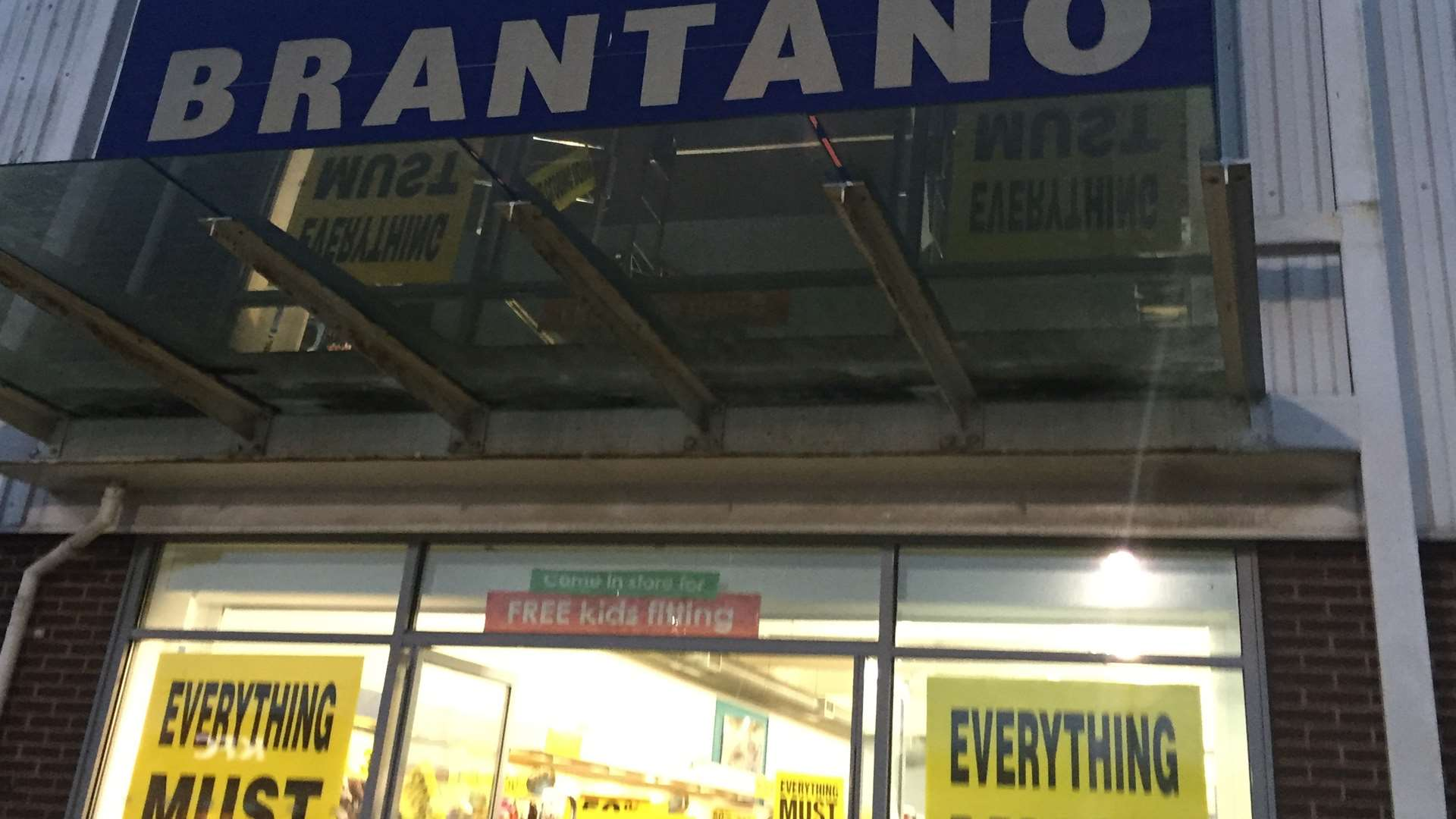 Brantano Footwear in Strood Retail Park is set to close