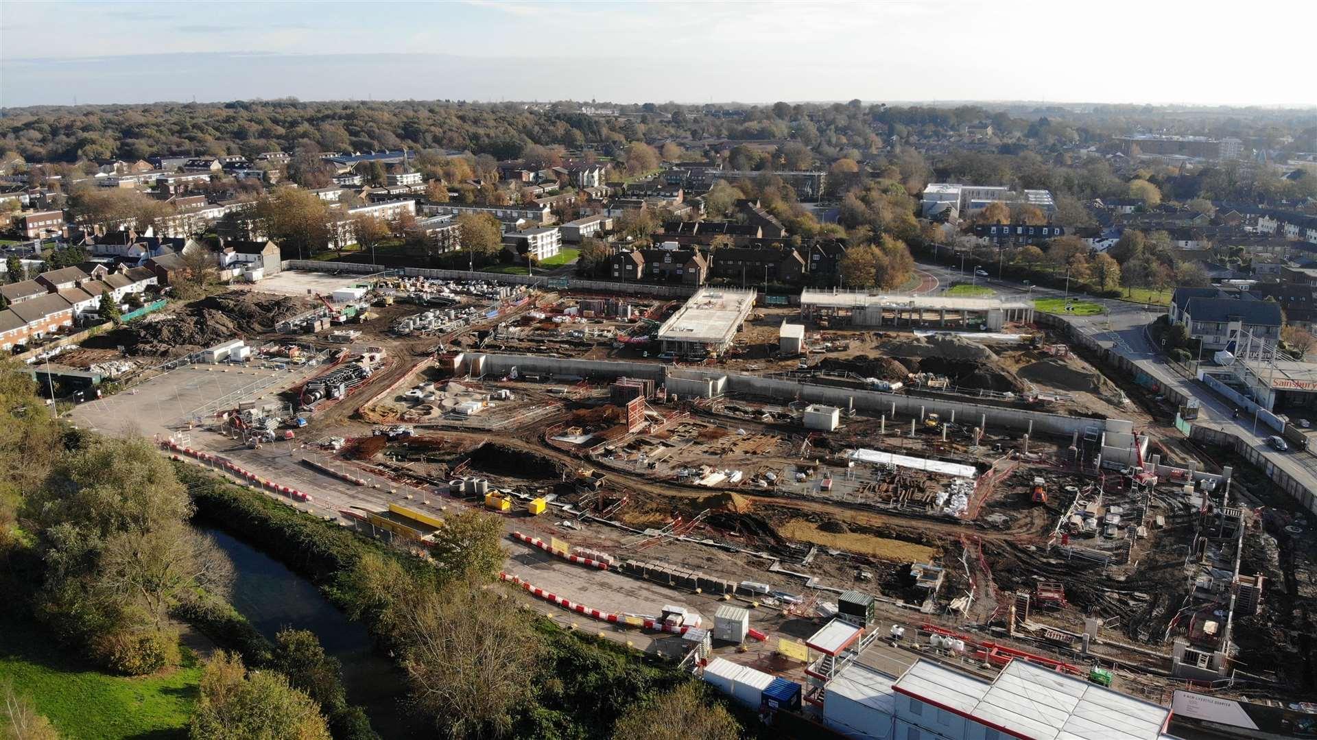 Une image de ce mois à l'avance progresse Kingsmead