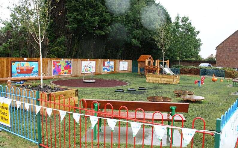 Lovell Road play area, Minster, Sheppey, will be one of those to close tomorrow