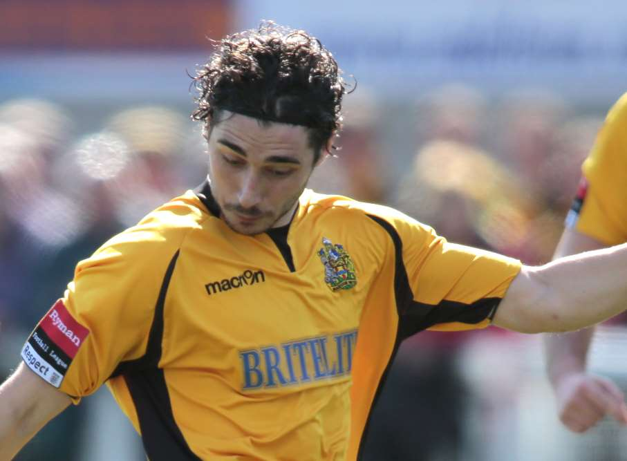Alex Brown has high hopes for Maidstone Picture: Martin Apps