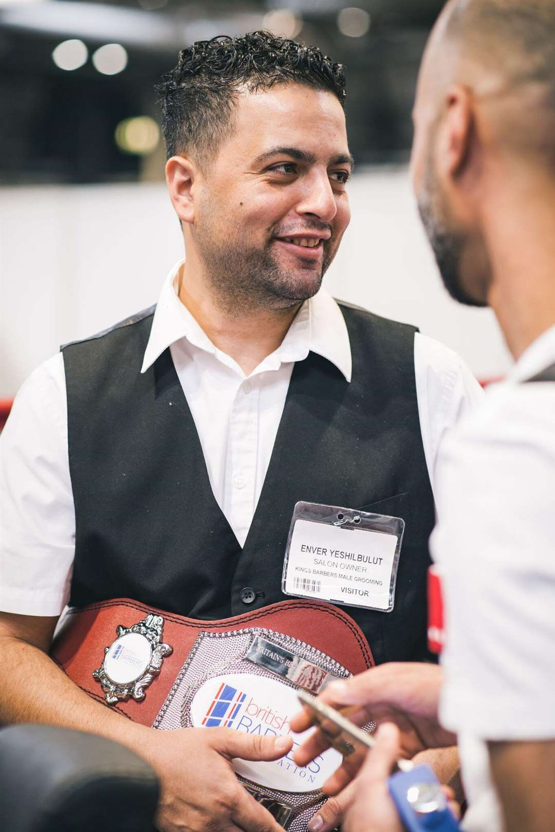 Efe Yeshilbulut has been crowned the best wet shaving master in Britain