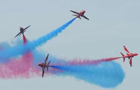 The Red Arrows. Stock image (1259113)