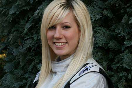 Champion rally driver Louise Cook