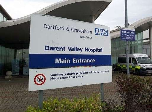 "Darent Valley Hospital in Dartford declared a ""CRITCON level four"" alert before it claimed this was an administrative error."