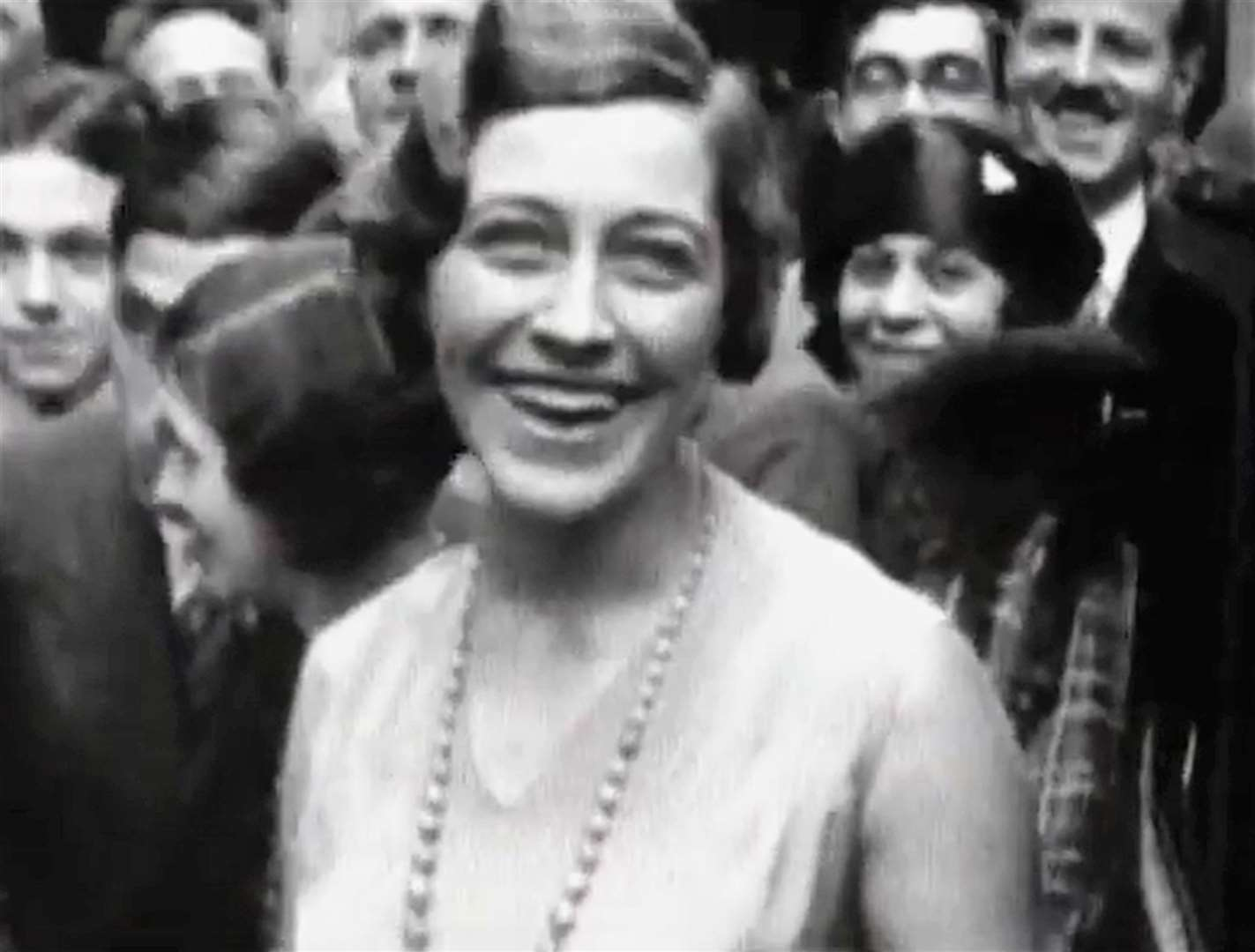 Amy Johnson back home after becoming the first woman to fly from England to Australia. Picture: British Pathe / YouTube