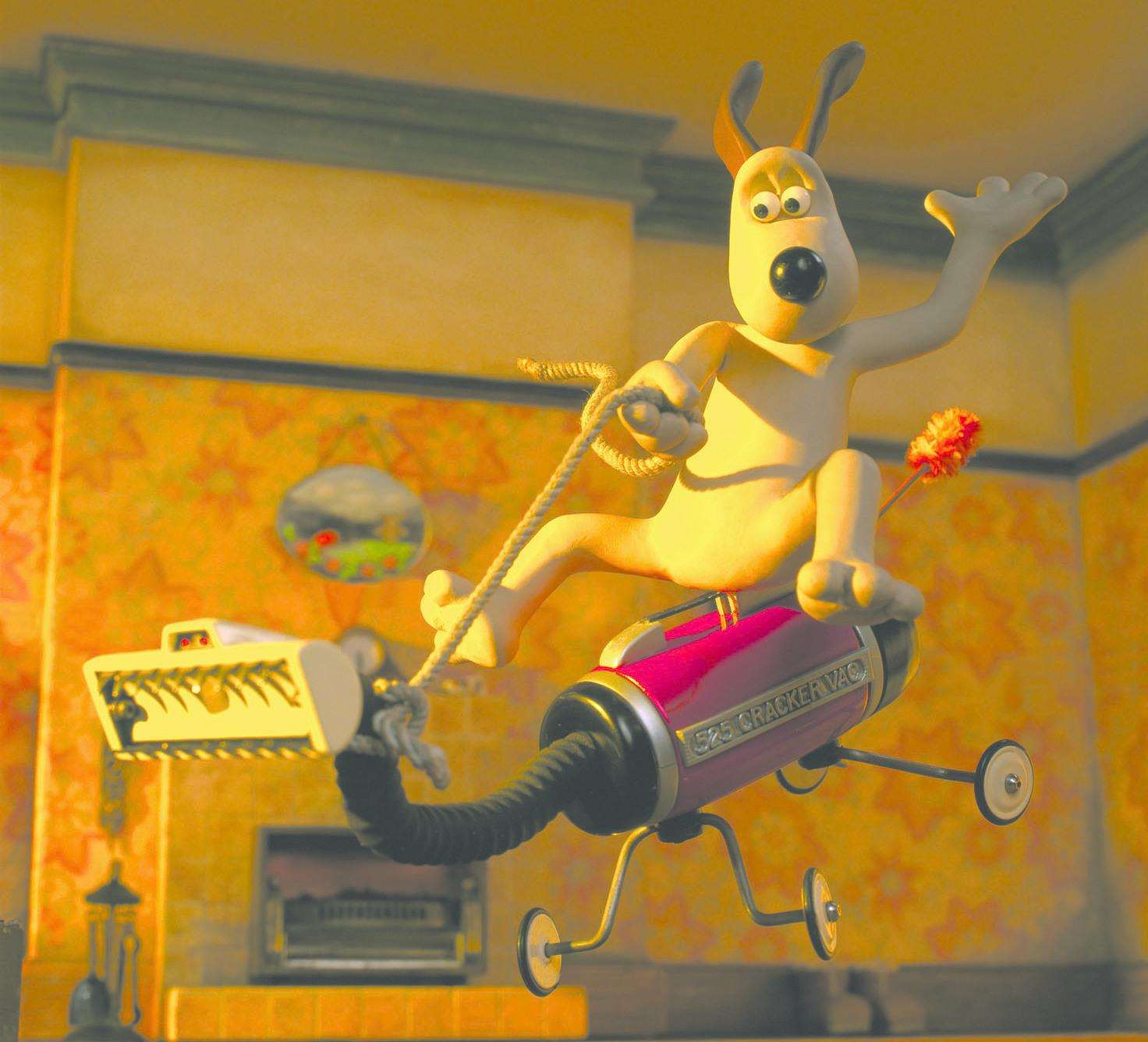 Gromit in Cracking Contraptions Picture: BBC Aardman