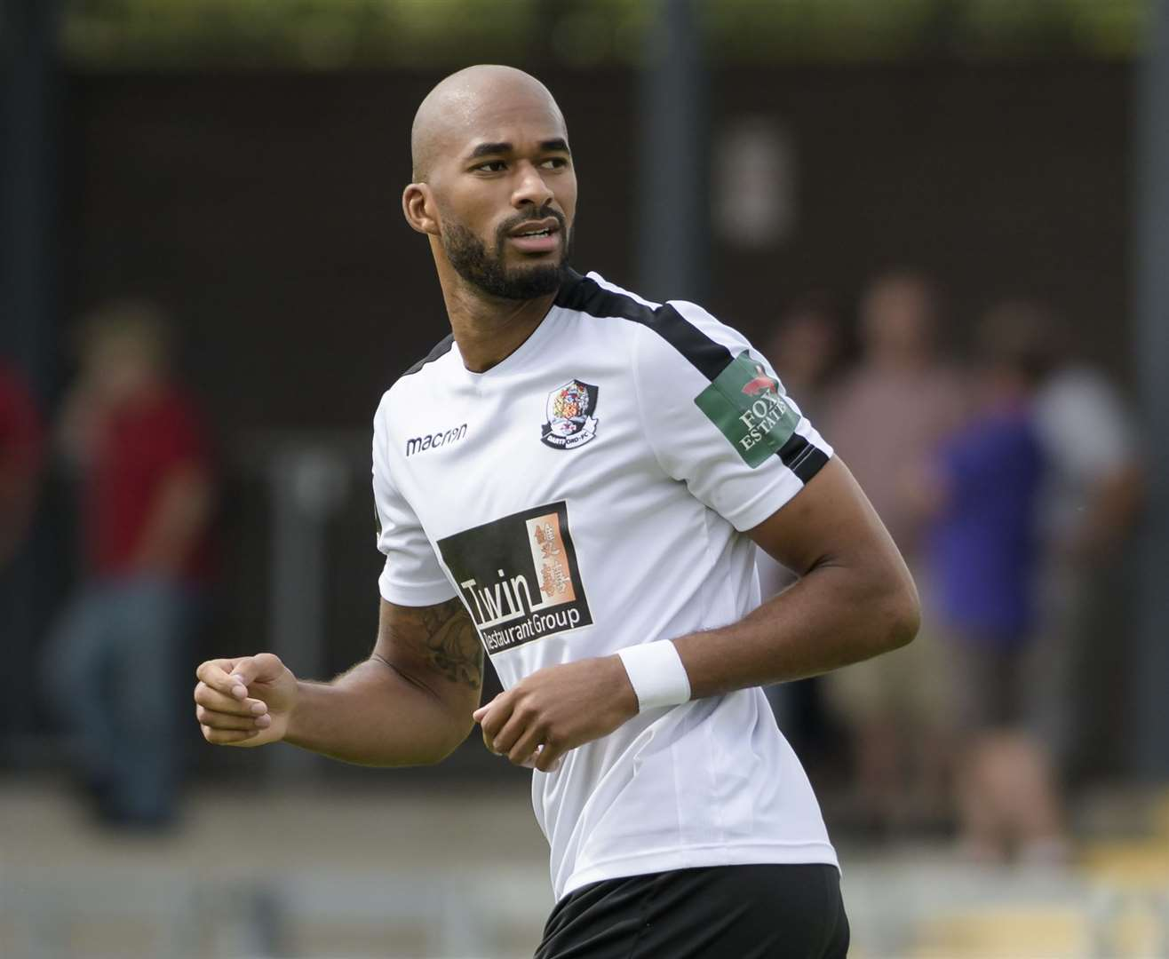 Delano Sam-Yorke joined Dartford after leaving Maidstone Picture: Andy Payton