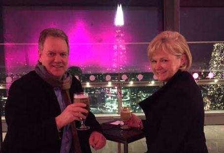 Glen Thompsett with his wife Julie. Picture: Glen Thompsett (6243762)
