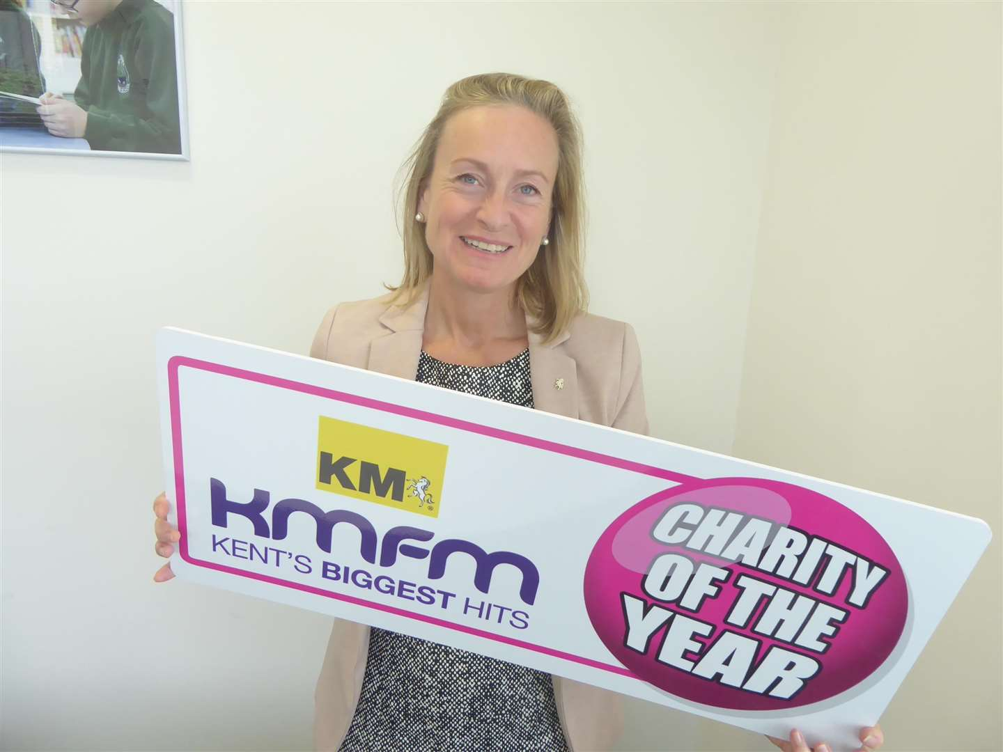 Chairman of the KM Group Geraldine Allinson urges charities to apply for KM Charity of the Year 2019. (3784309)