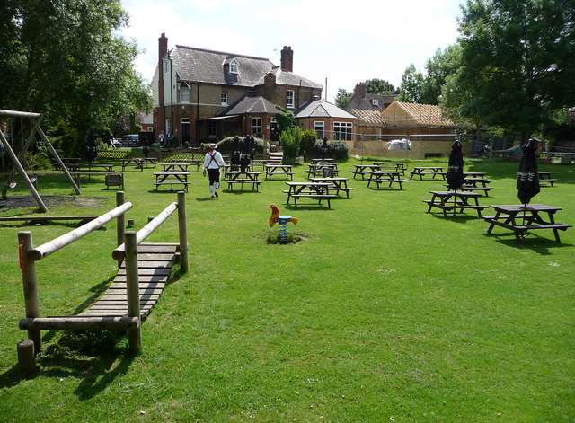 Kent S Best Pub Gardens The Fighting Cocks Horton Kirby