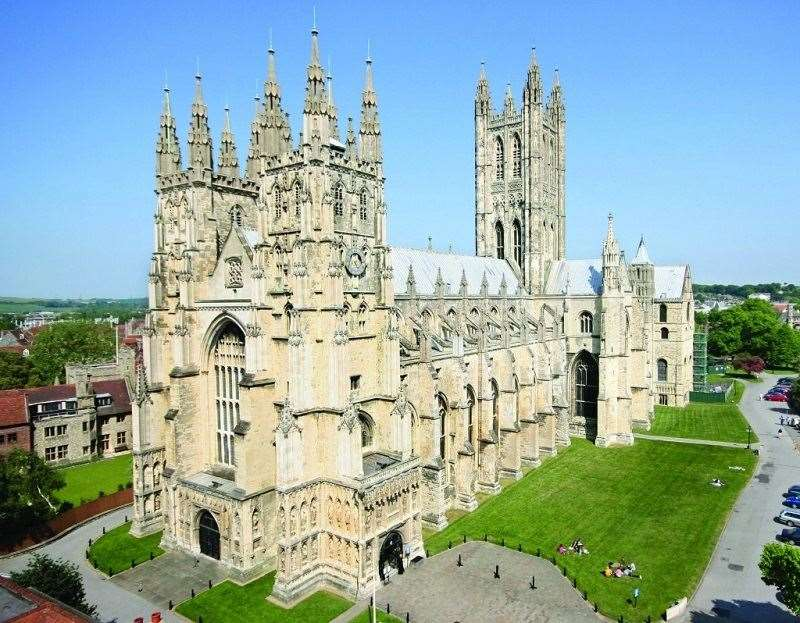 Canterbury Cathedral's clergy are to live-stream its Evensong service. Stock picture