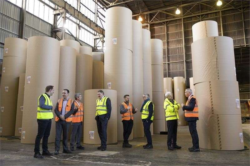 E.ON has announced the signing of a major agreement to construct a state-of-the-art combined heat and power (CHP) facility at Kemsley Paper Mill (7806157)