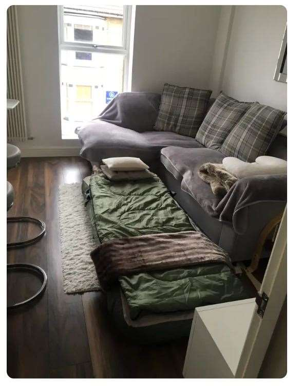 The airbed for rent (16057865)
