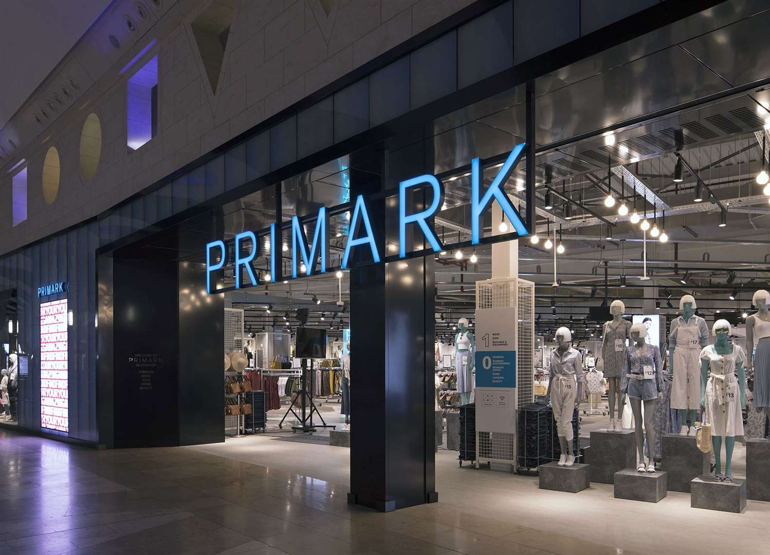The Bluewater store will be the eight store in Kent. Picture: Primark (7758267)