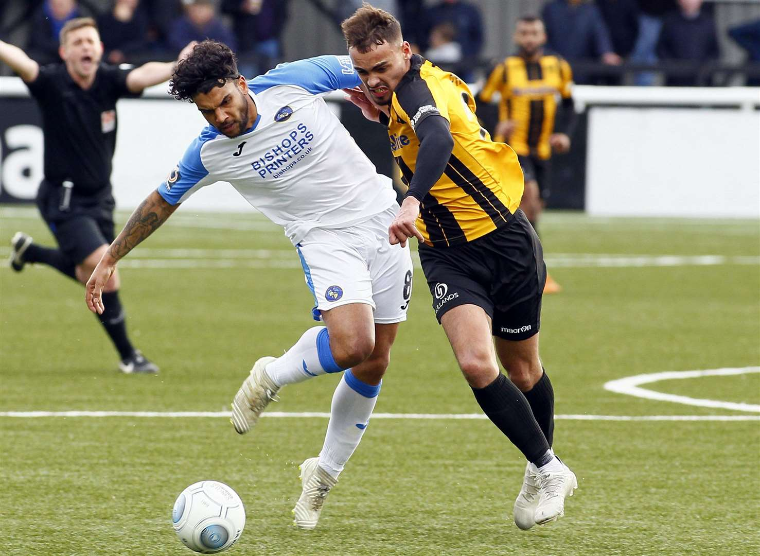 Michael Phillips won the player-of-the-year award at Maidstone last season Picture: Sean Aidan