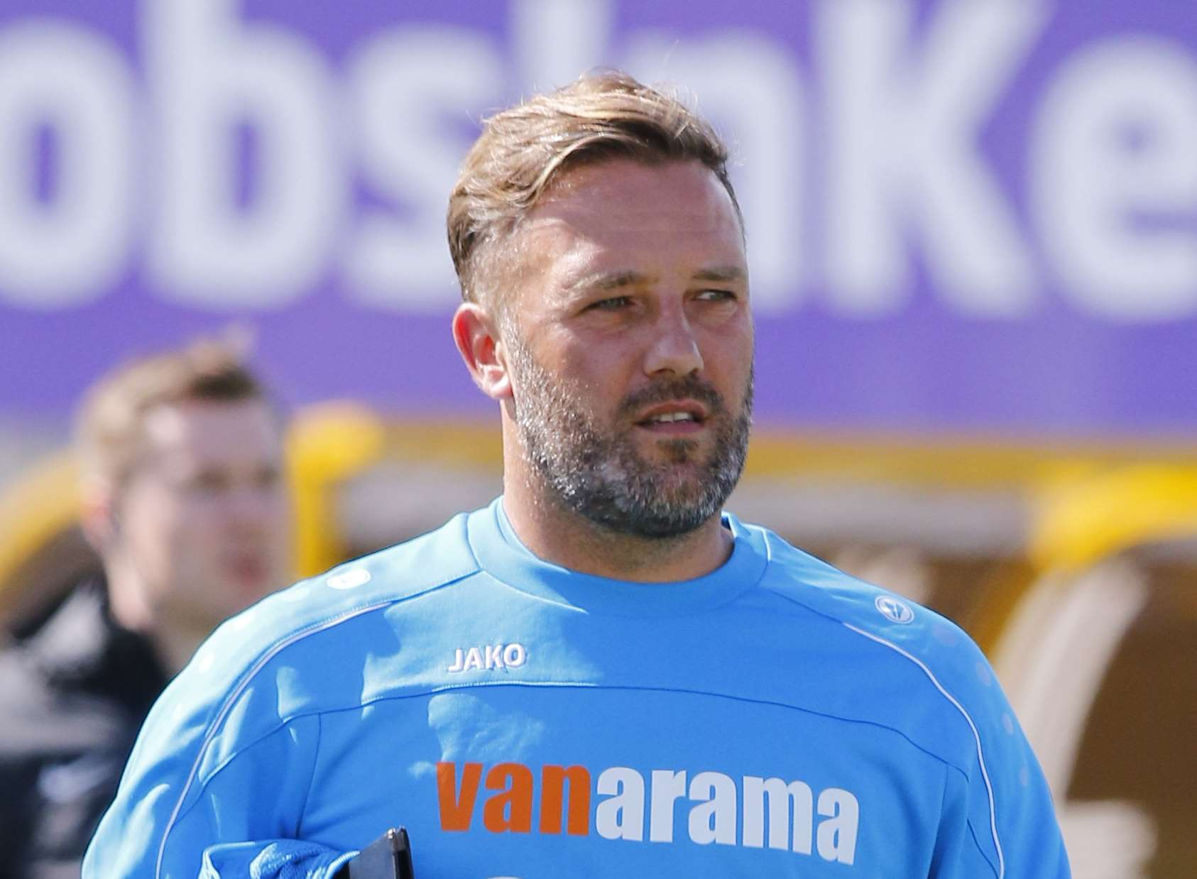 Maidstone manager Jay Saunders Picture: Andy Jones