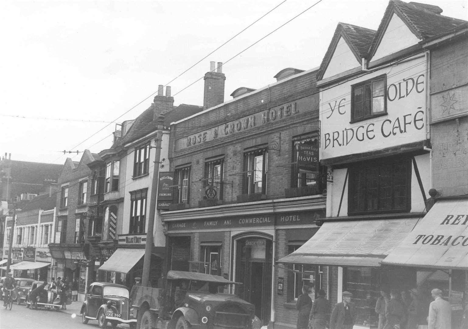 The Rose & Crown Hotel, in High Street, Maidstone. Picture: Images of Maidstone