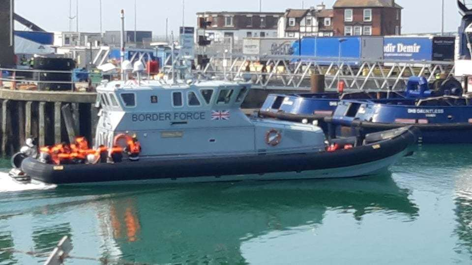 Border forces boats have been occupied again in the English Channel as Interior Minister Priti Patel tries to return migrant boats to France