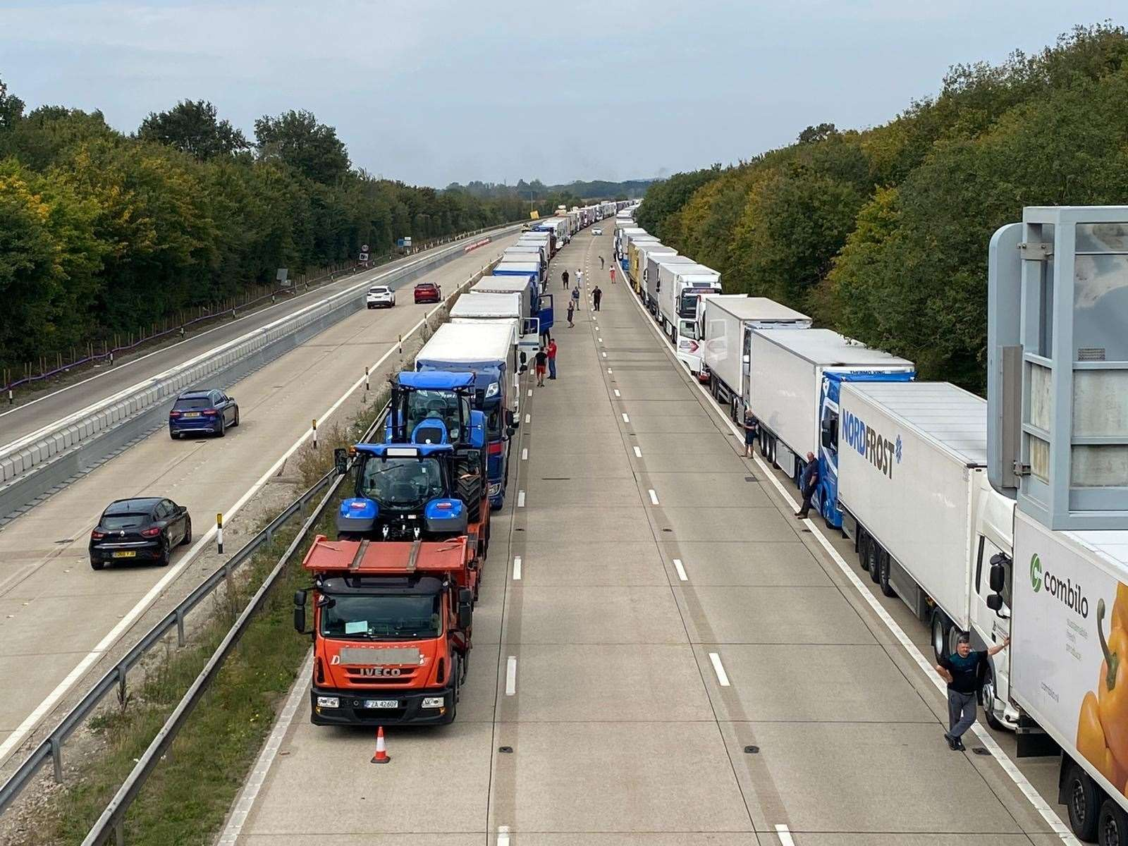 Operation Stack in place on the M20