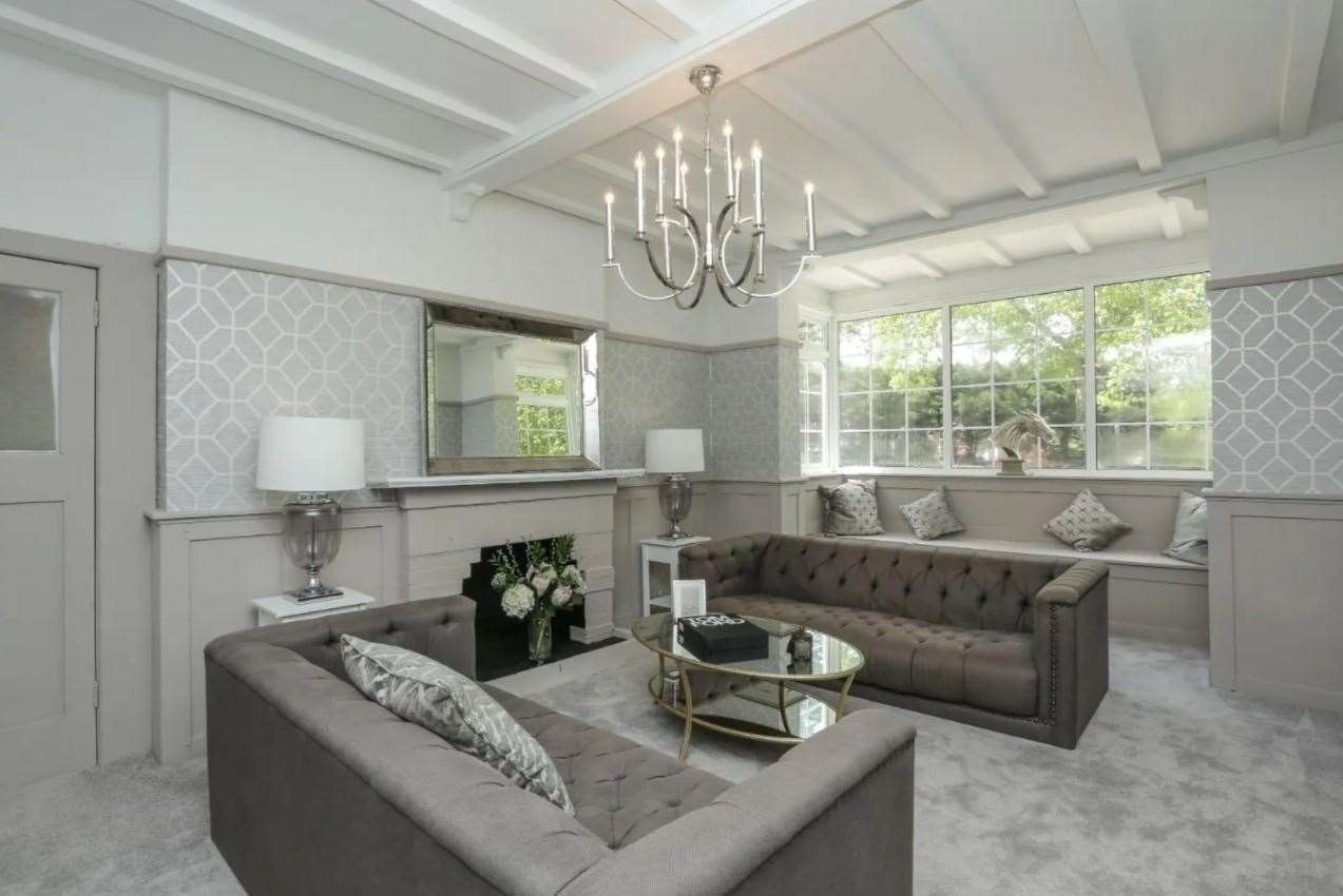 Inside the property, located right next to a railway station and grammar school. Picture: Zoopla / Miles & Barr